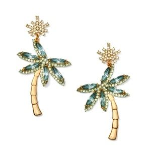 Kate Spade California Dreamin' Palm Tree Earrings
